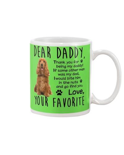 Cocker Spaniel Daddy