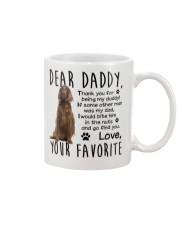 irish Setter  Dad Mug front
