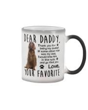 irish Setter  Dad Color Changing Mug thumbnail