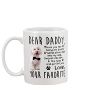 Maltese Dad Mug back