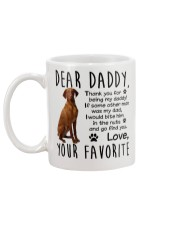 Vizsla Daddy Mug back