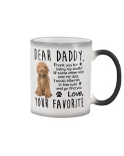 Labradoodle Color Changing Mug thumbnail