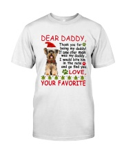 Yorkie DAD Classic T-Shirt tile