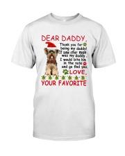 Yorkie DAD Classic T-Shirt thumbnail