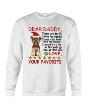 Yorkie DAD Crewneck Sweatshirt thumbnail