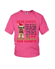 Yorkie DAD Youth T-Shirt tile
