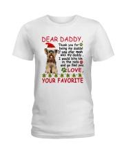 Yorkie DAD Ladies T-Shirt thumbnail