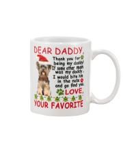 Yorkie DAD Mug front