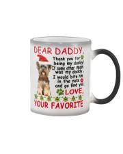 Yorkie DAD Color Changing Mug thumbnail