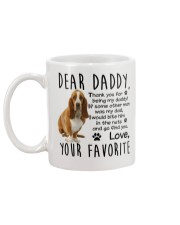 Basset Hound Dad Mug back