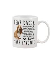 Basset Hound Dad Mug front