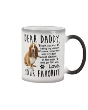 Basset Hound Dad Color Changing Mug thumbnail
