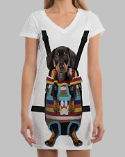 Dachshund Lover All-over Dress aos-dress-front-lifestyle-3