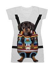 Dachshund Lover All-over Dress front
