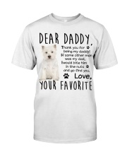 Westie DAD Classic T-Shirt thumbnail