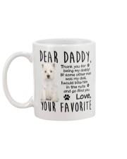 Westie DAD Mug back