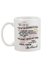To My Wife Mug back