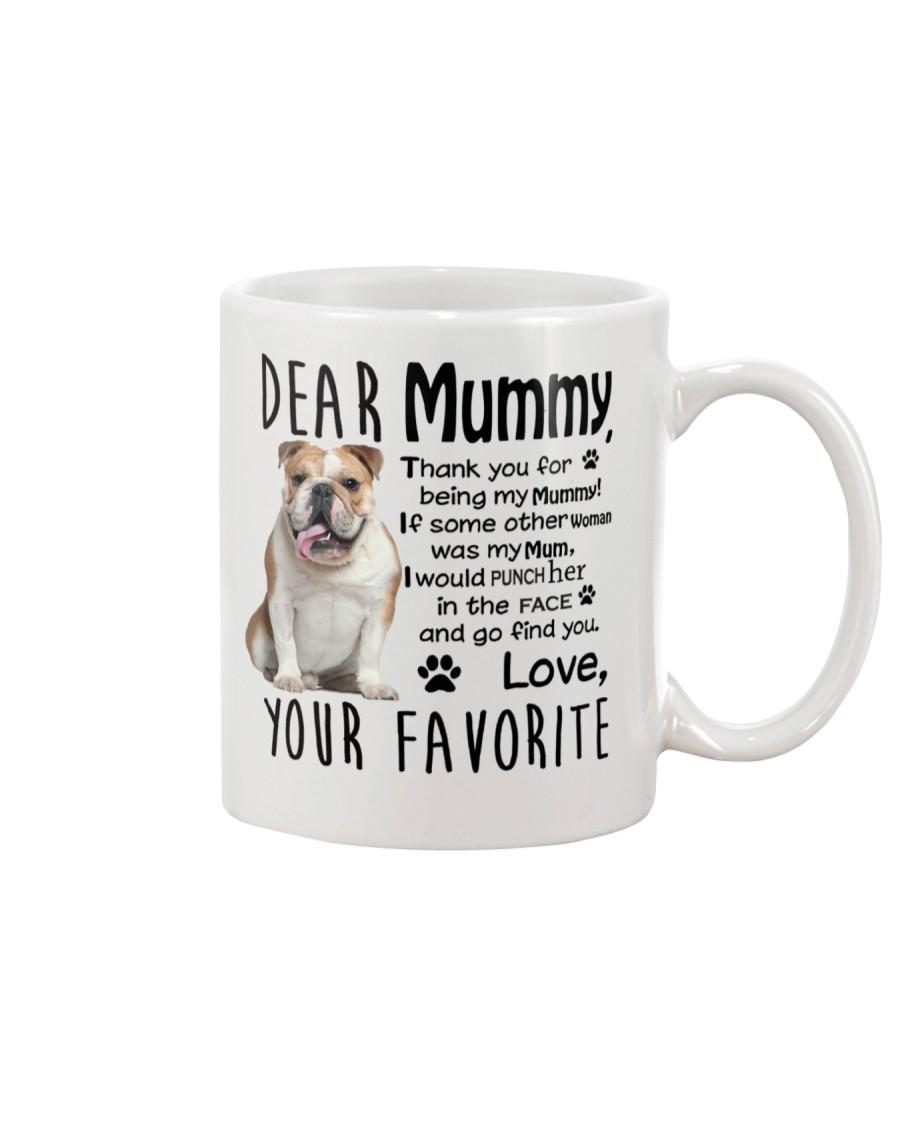 bulldog mummy Mug