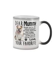 bulldog mummy Color Changing Mug thumbnail