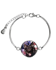 German Shepherd Metallic Circle Bracelet thumbnail