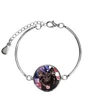 German Shepherd Metallic Circle Bracelet thumbnail