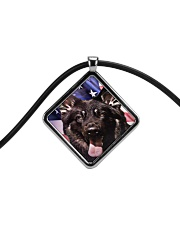 German Shepherd Cord Diamond Necklace thumbnail