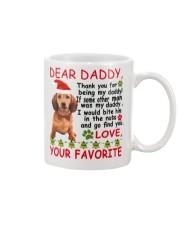 Dachshund Dad Mug front