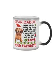 Dachshund Dad Color Changing Mug thumbnail