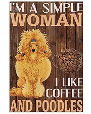 Poodles Lover 16x24 Poster front