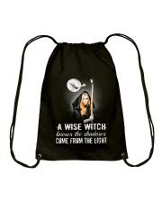 Wise Witch Drawstring Bag thumbnail