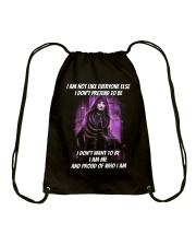 I am me witch Drawstring Bag thumbnail