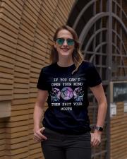 Shut your mouth Ladies T-Shirt lifestyle-women-crewneck-front-2