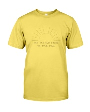 Let The Sun Shine Premium Fit Mens Tee front