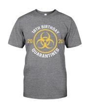 18th Birthday 2020 Quarantined Biohazard Classic T-Shirt front