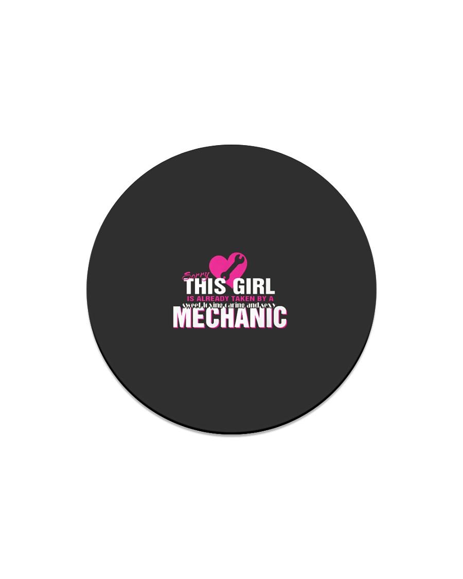 This Girl Is Already Taken  MECHANIC  Ts Circle Magnet