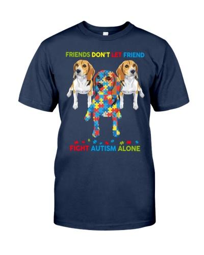 Autism Awareness Beagle Friends
