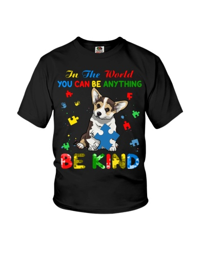 Autism Awareness Corgi Be Kind