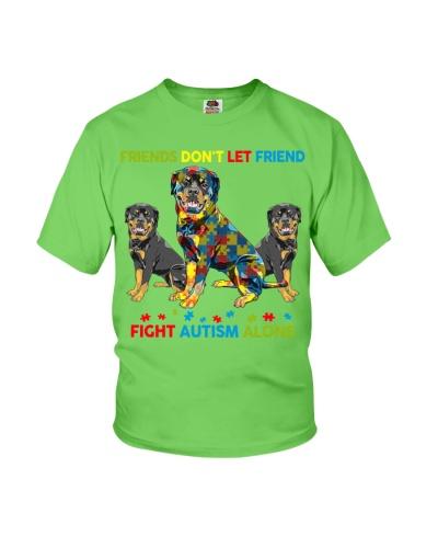 Autism Awareness Rottweiler Friends