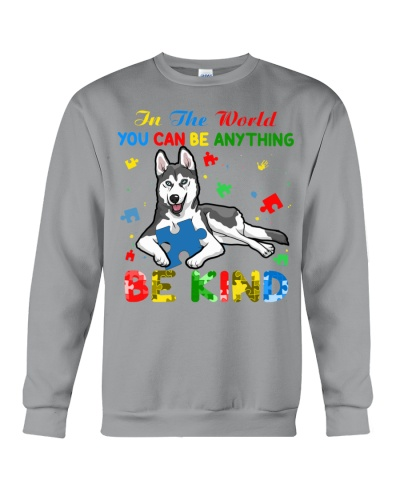 Autism Awareness Husky Be Kind