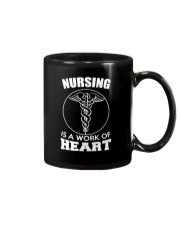 Nursing Is A Work Of Heart Mug thumbnail
