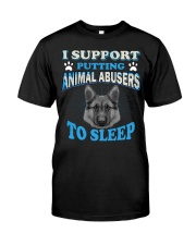I love animal Classic T-Shirt front