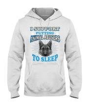 I love animal Hooded Sweatshirt thumbnail