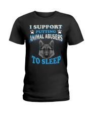 I love animal Ladies T-Shirt thumbnail