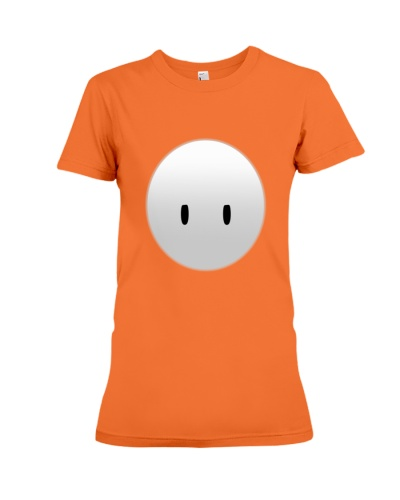 fall guys canvas funny face gift for gamers