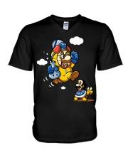 Walter Mario Funny shirts V-Neck T-Shirt thumbnail