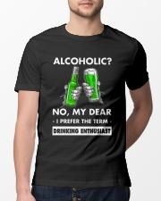 Alcoholic Classic T-Shirt lifestyle-mens-crewneck-front-13