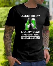 Alcoholic Classic T-Shirt lifestyle-mens-crewneck-front-7