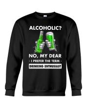Alcoholic Crewneck Sweatshirt thumbnail