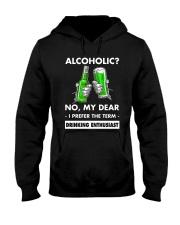 Alcoholic Hooded Sweatshirt thumbnail