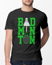 Badminton Rackets Green Classic T-Shirt lifestyle-mens-crewneck-front-13